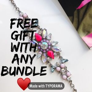 Free gift with any bundle of 2 or more ❤️🙌🏼